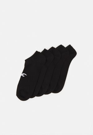 NEUTRAL ANKLE SOCK 5 PACK UNISEX - Socks - black