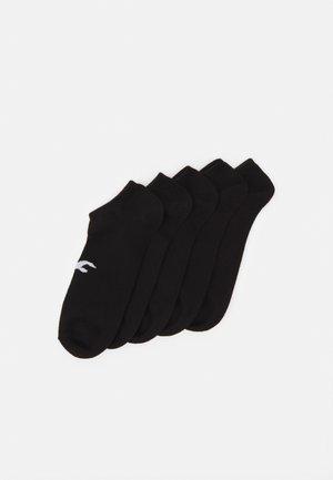 NEUTRAL ANKLE SOCK 5 PACK UNISEX - Strumpor - black