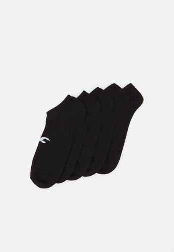 NEUTRAL ANKLE SOCK 5 PACK UNISEX - Socks - black