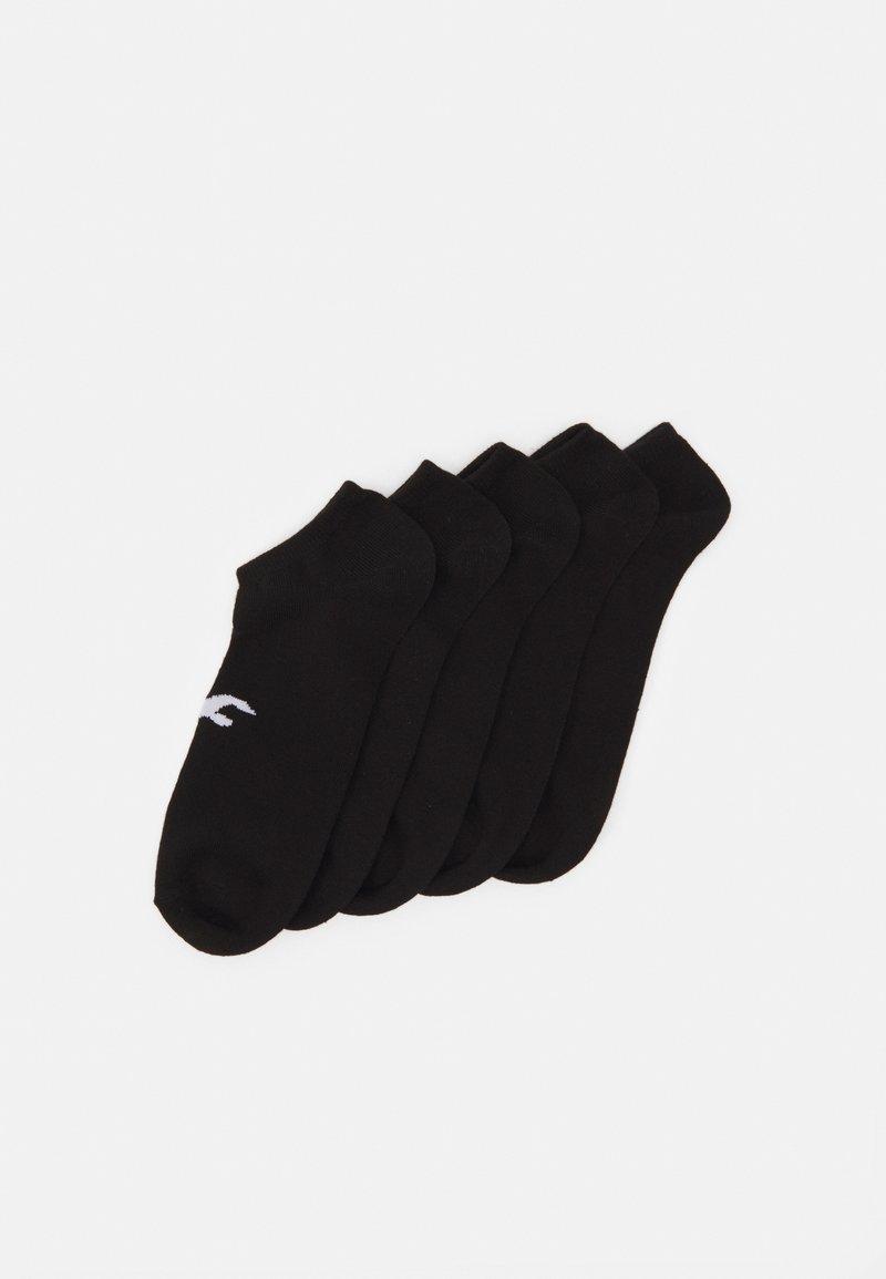 Hollister Co. - NEUTRAL ANKLE SOCK 5 PACK UNISEX - Socks - black
