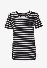 TH COOL ESS  - Basic T-shirt - white/black