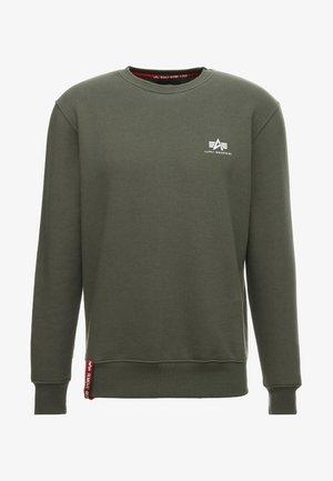 BASIC SMALL LOGO - Sweatshirt - dark oliv