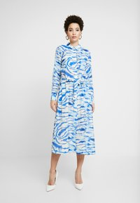 InWear - LIXI DRESS - Shirt dress - blue - 0