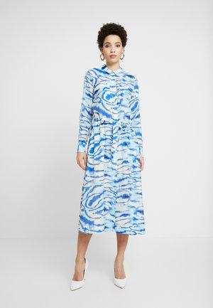 LIXI DRESS - Shirt dress - blue