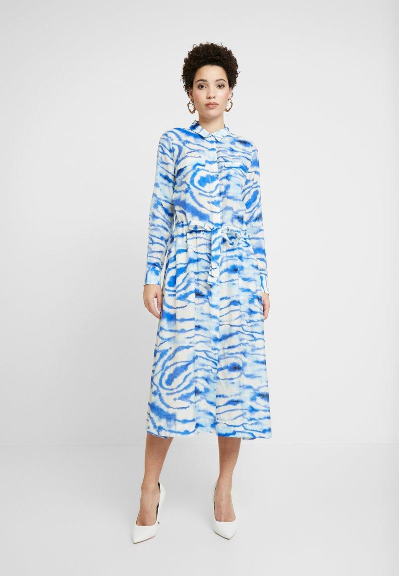 InWear - LIXI DRESS - Shirt dress - blue