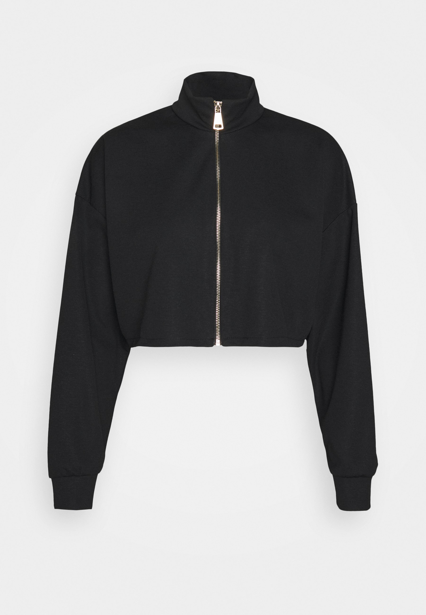 Women HARRY ZIP CROP HOODY - Zip-up sweatshirt