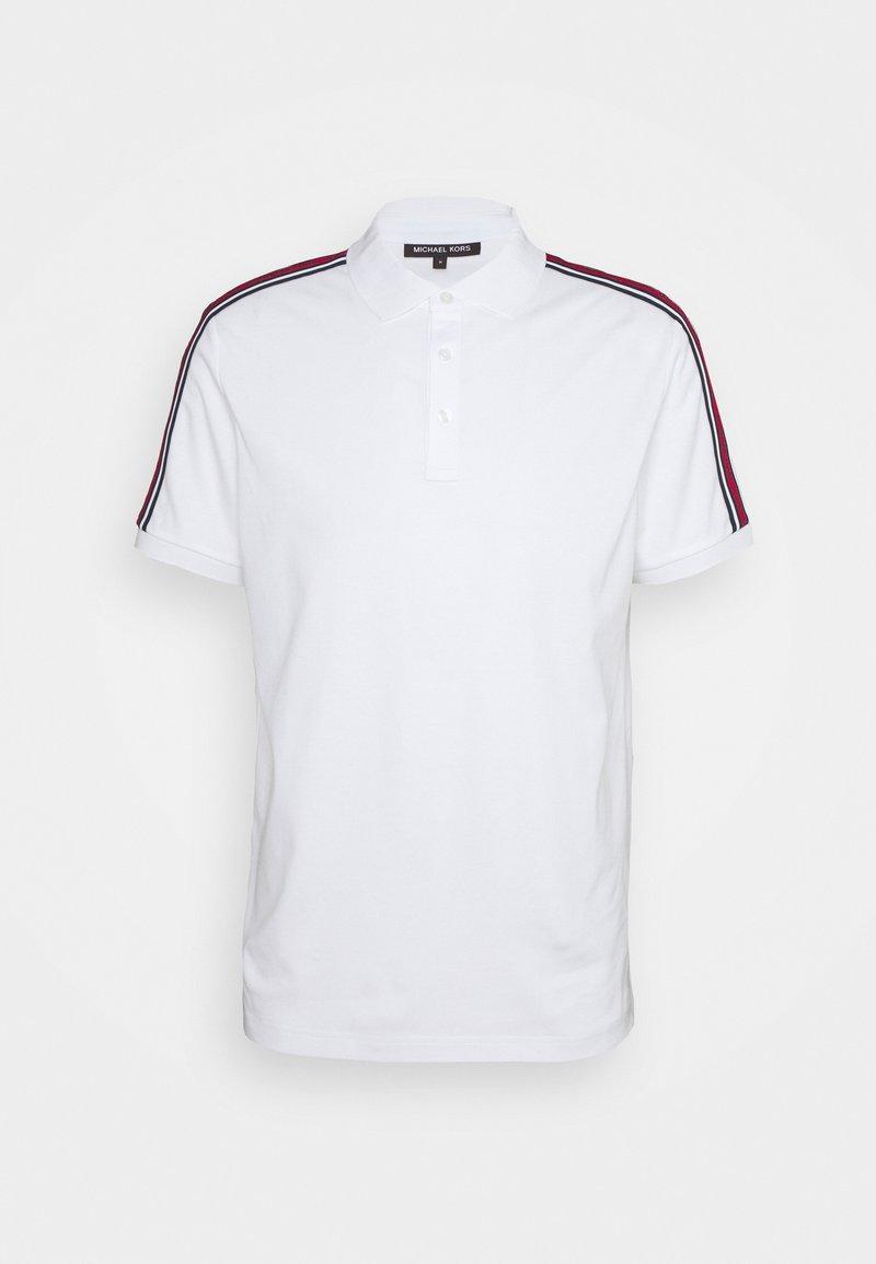 Michael Kors - LOGO TAPE - Polo shirt - white