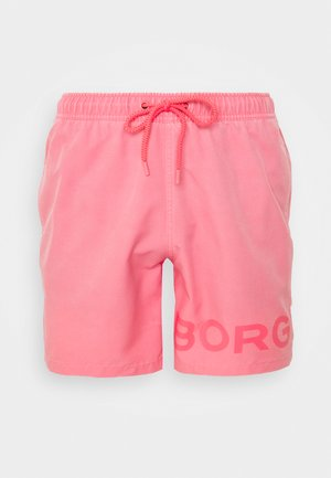 SHELDON SHORTS - Swimming shorts - sunkist coral