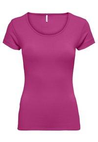 ONLY - PACK OF 3 - Basic T-shirt - blue/phantom/berry - 2