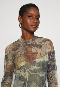 Desigual - CHATTE - Long sleeved top - deep lichen - 3