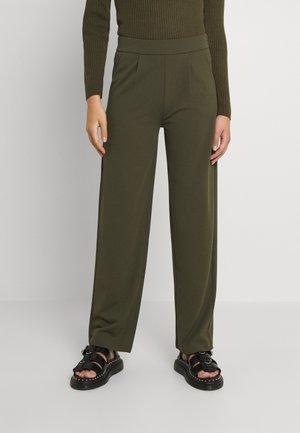 JDYLANEY CATIA WIDE PANT - Trousers - deep depths