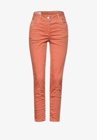 Cecil - Slim fit jeans - orange - 3