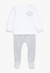 mothercare - BABY VELOUR SET - Sweater - white - 0