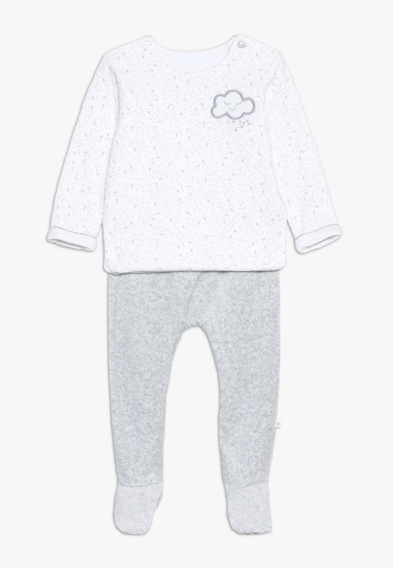 mothercare - BABY VELOUR SET - Sweater - white