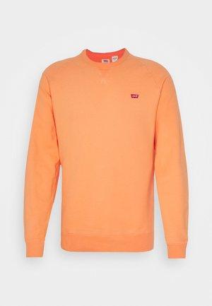 ORIGINAL ICON CREW UNISEX - Sweatshirt - apricot