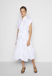 Lauren Ralph Lauren - BROADCLOTH DRESS - Košilové šaty - white - 0