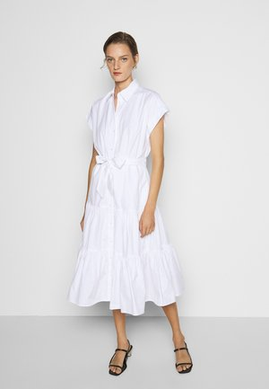 BROADCLOTH DRESS - Blusenkleid - white