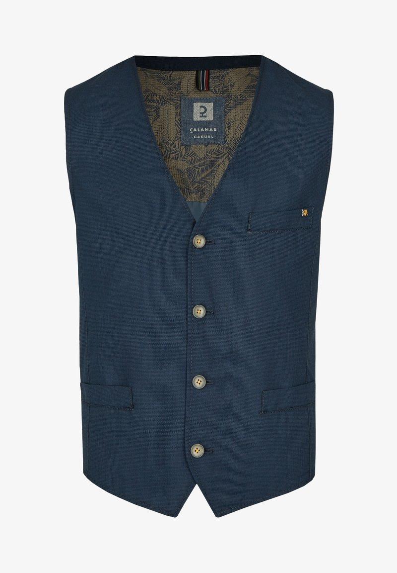 Calamar - TRENDIGE - Waistcoat - dunkelblau