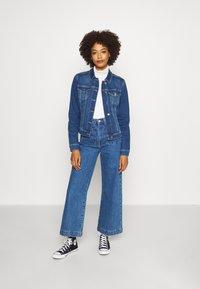 comma - Denim jacket - blue denim - 1