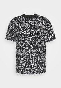 Napapijri The Tribe - NOAIDE UNISEX - T-shirt con stampa - black - 0