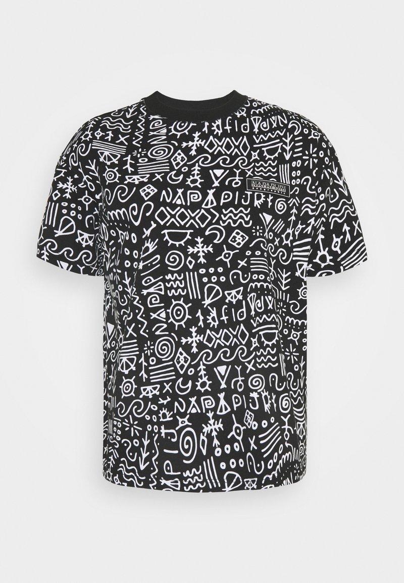 Napapijri The Tribe - NOAIDE UNISEX - T-shirt con stampa - black
