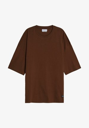 Basic T-shirt - brown