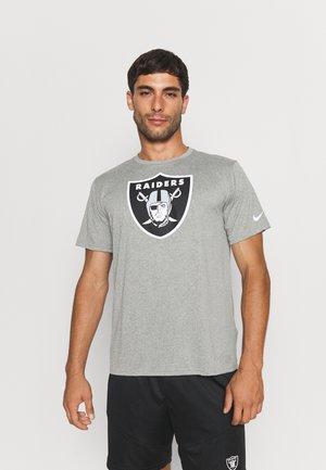 NFL LAS VEGAS RAIDERS LOGO LEGEND - Fanartikel - dark grey heather
