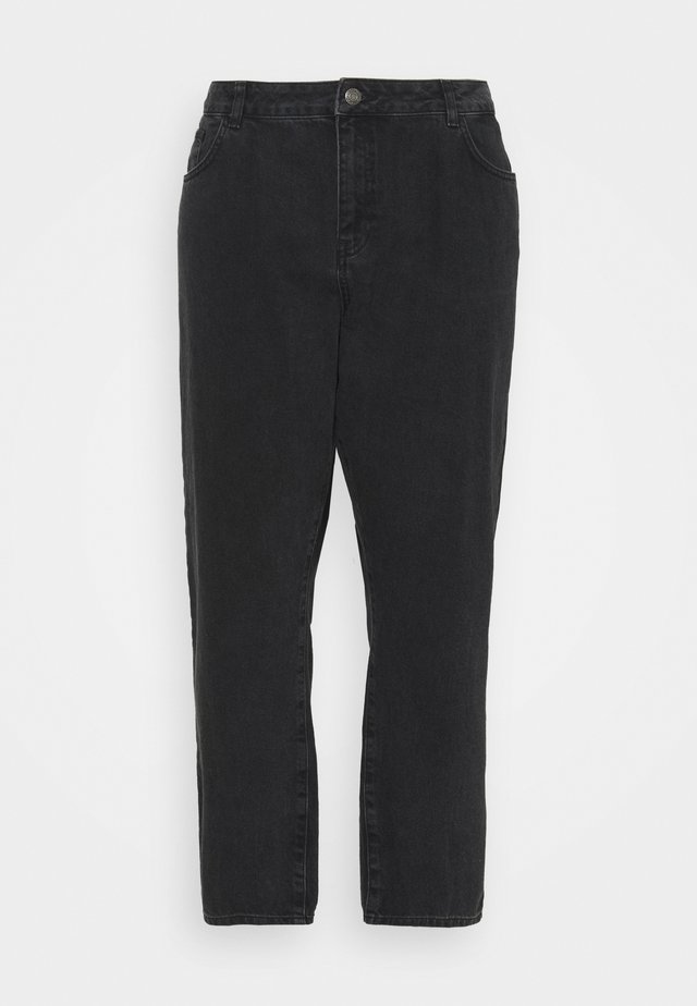 NMISABEL - Relaxed fit jeans - black