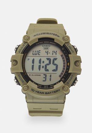 Digital watch - beige