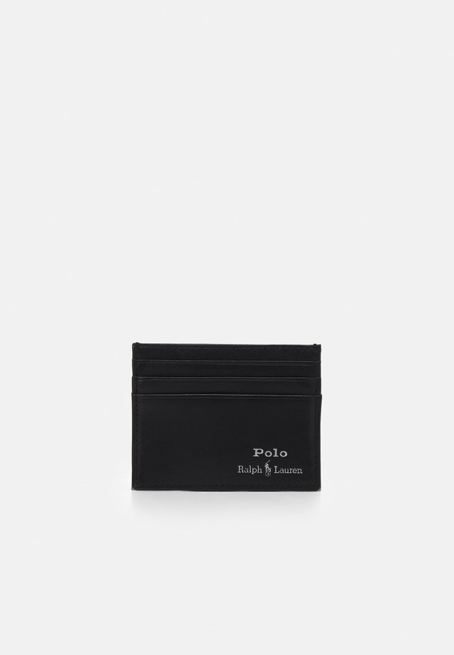 SMOOTH UNISEX - Business card holder - black