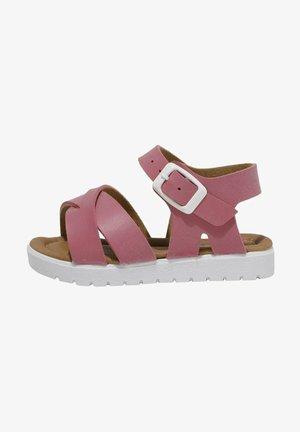 Baby shoes - fuschia