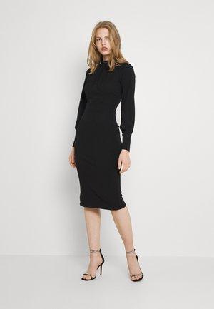 RIHANNA DRESS - Jersey dress - black