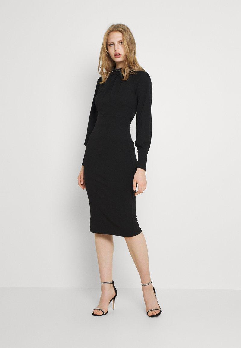 WAL G. - RIHANNA DRESS - Jersey dress - black