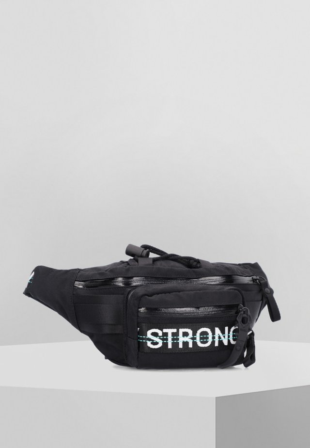 BELLY BEAN - Bum bag - black strong