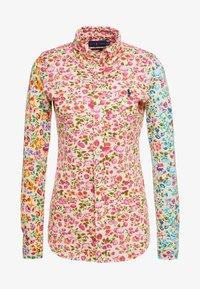 Polo Ralph Lauren - OXFORD - Button-down blouse - blush/multi - 3