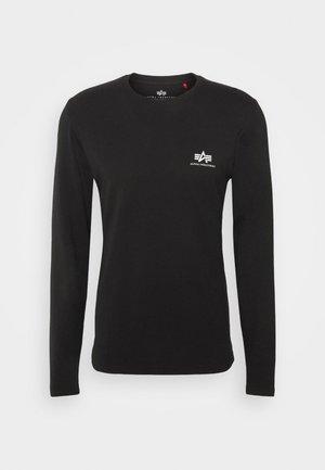 BACK PRINT HEAVY - Långärmad tröja - black