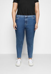 Even&Odd Curvy - Jeans Skinny Fit - blue denim - 0