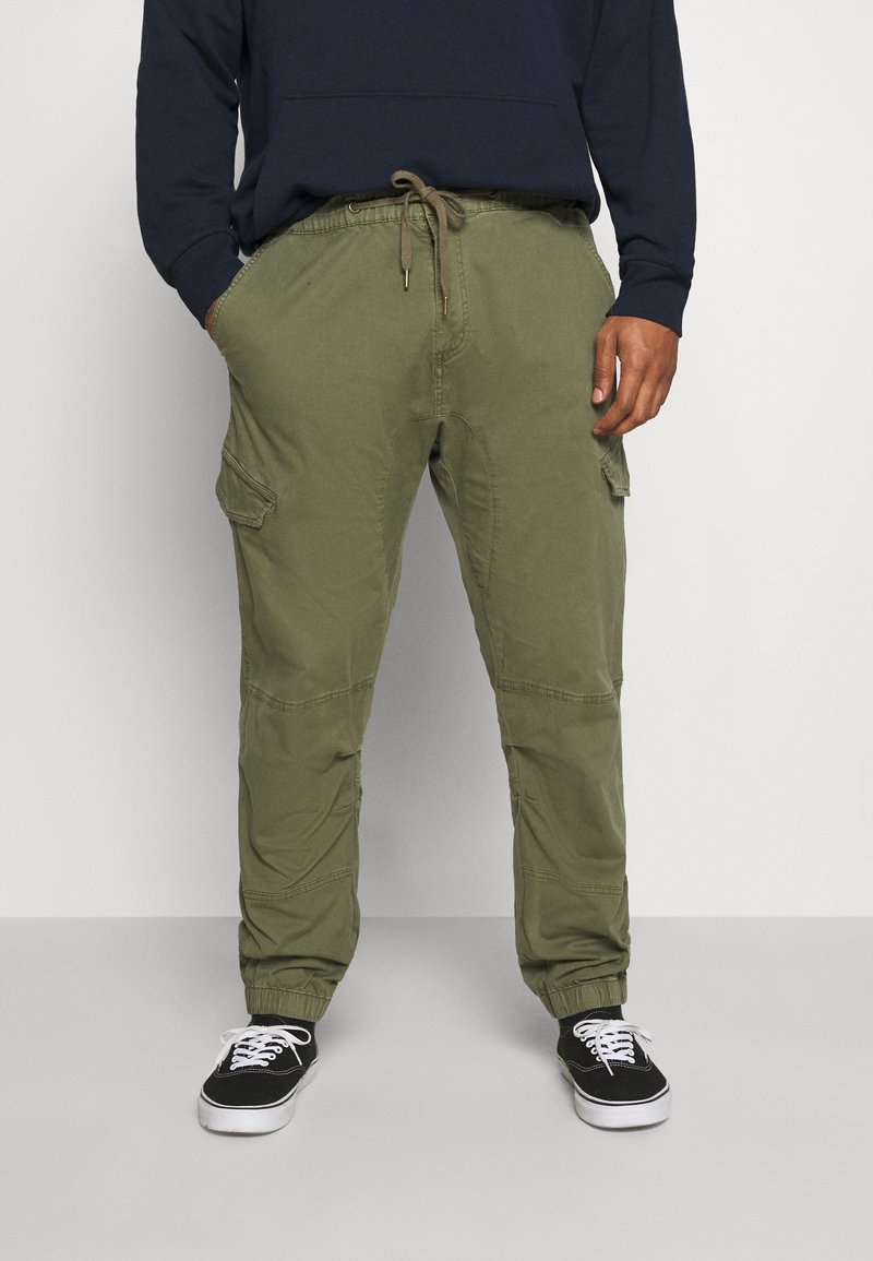 INDICODE JEANS - LEVI - Cargo trousers - army