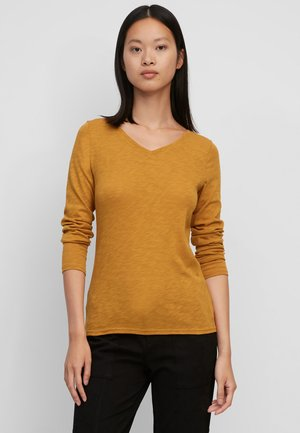 Long sleeved top - sunny pumpkin