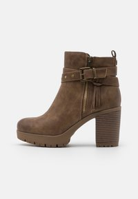 Refresh - High heeled ankle boots - taupe - 1