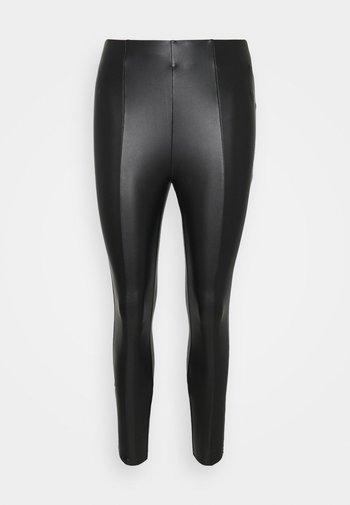 VIBARB PANTS - Kalhoty - black