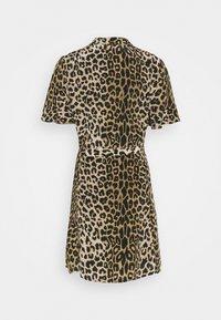 AllSaints - LEPPO DRESS - Day dress - leopard yellow - 1