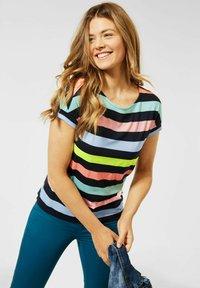 Cecil - MIT STREIFEN - Print T-shirt - multicolour - 0