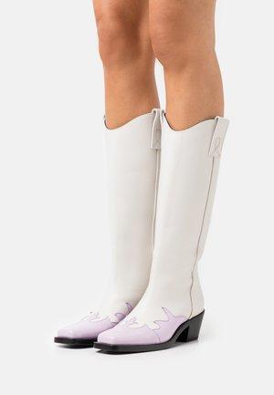 STIVALE DONNA BOOT - Cowboystøvler - lilac/white