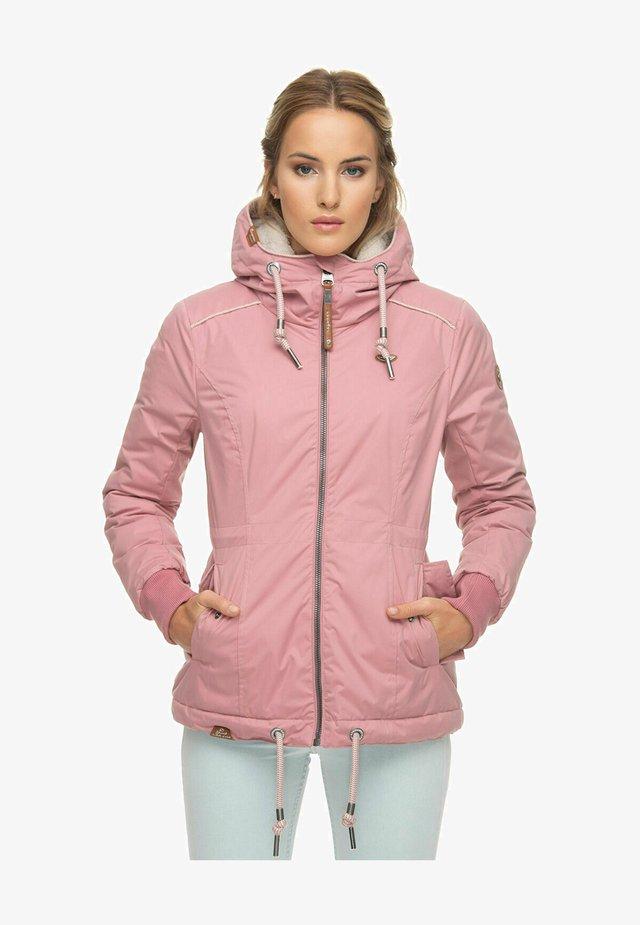 DANKA  - Vinterfrakker - old pink