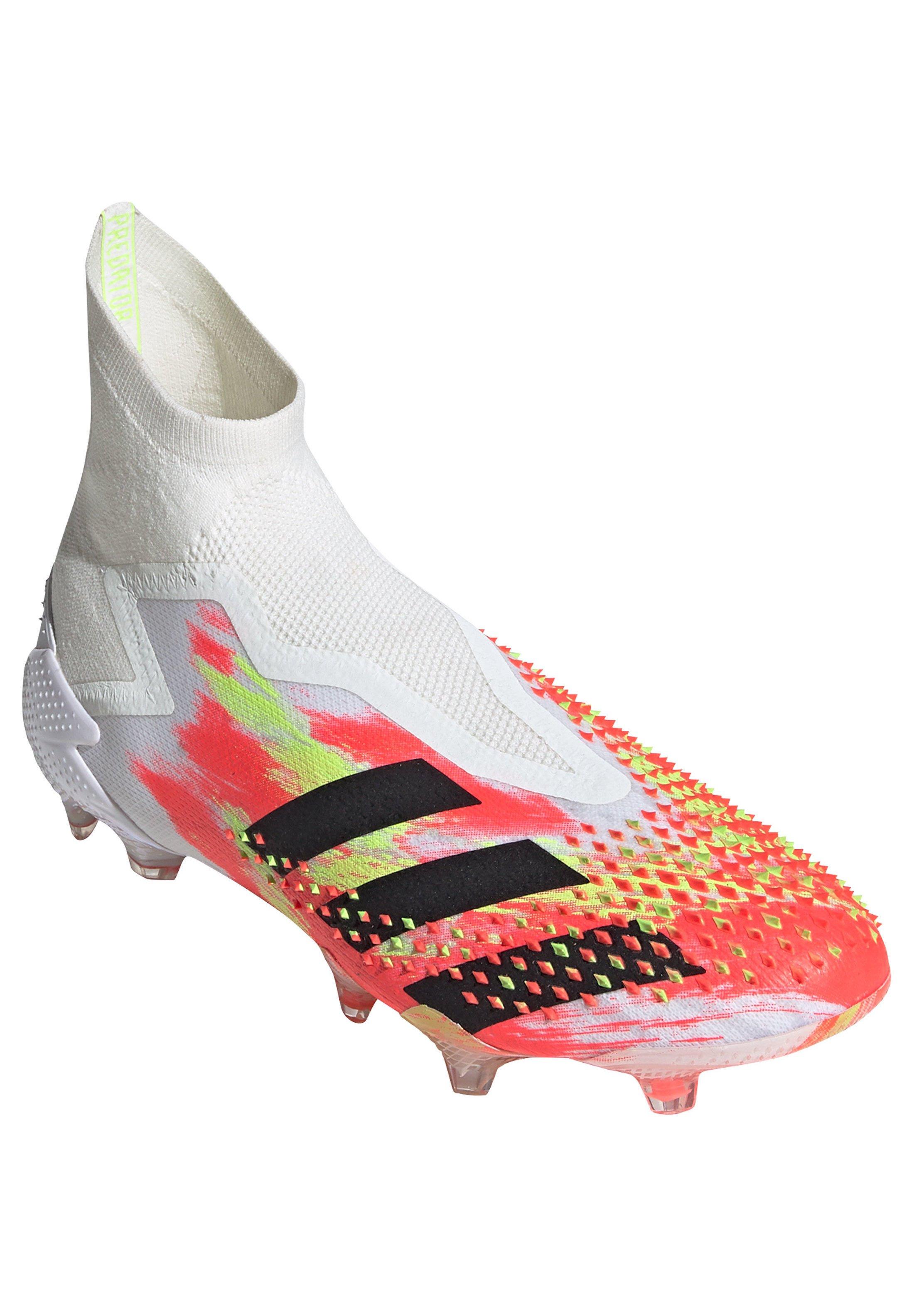 adidas Performance ADIDAS PERFORMANCE PREDATOR 20+ FG FUSSBALLSCHUH HERREN - Fußballschuh Nocken - footwear white / core black / pop/weiß - Herrenschuhe MCTco