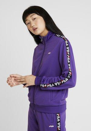 TALLI TRACK JACKET - Kurtka sportowa - tillandsia purple