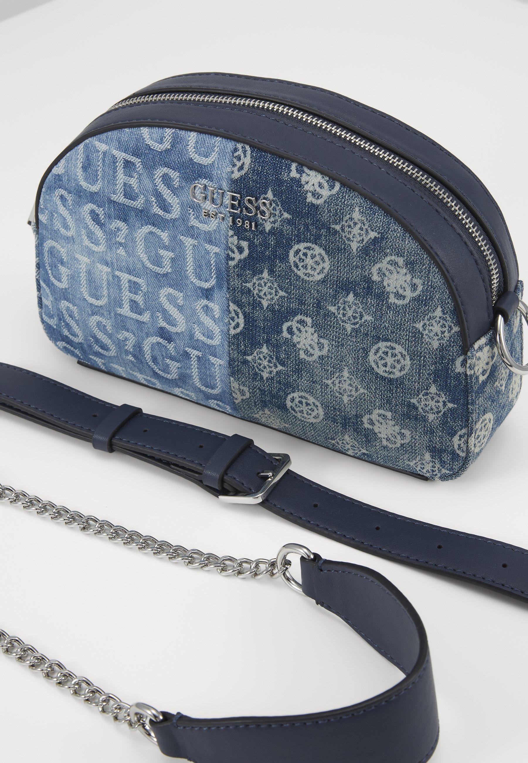 Guess Kaylyn Mini Crossbody Top Zip - Umhängetasche Denim/blau