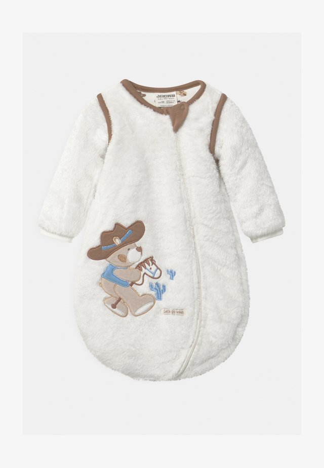 KUSCHEL - Śpiworek niemowlęcy - off-white