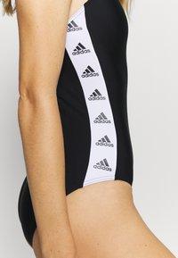 adidas Performance - Swimsuit - black/white - 4